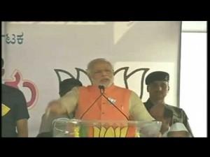 Shri Narendra Modi addressing a Public Meeting in Bijapur, Karnataka 30-03-2014