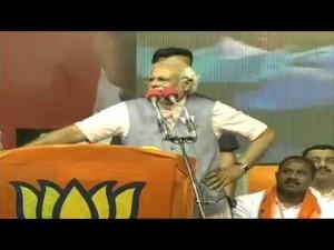"Shri Narendra Modi addressing ""Bharat Vijay"" rally in Bangalore, Karnataka 08-04-2014"